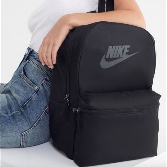 e588dd5020 NWT Nike Sportswear Heritage Backpack Black laptop